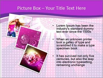 Pink Night Light PowerPoint Template - Slide 17