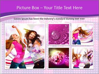 Pink Night Light PowerPoint Template - Slide 19