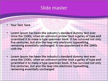 Pink Night Light PowerPoint Template - Slide 2