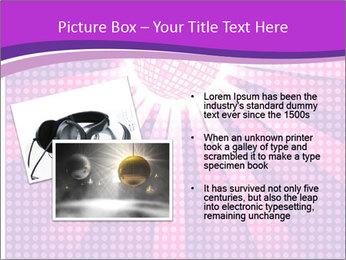 Pink Night Light PowerPoint Template - Slide 20