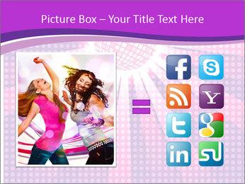 Pink Night Light PowerPoint Template - Slide 21