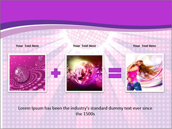 Pink Night Light PowerPoint Template - Slide 22