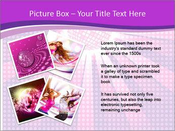 Pink Night Light PowerPoint Template - Slide 23