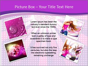 Pink Night Light PowerPoint Template - Slide 24