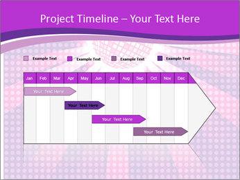 Pink Night Light PowerPoint Template - Slide 25