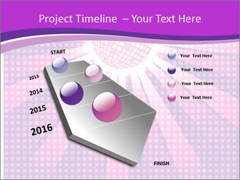 Pink Night Light PowerPoint Template - Slide 26