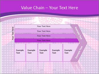 Pink Night Light PowerPoint Template - Slide 27