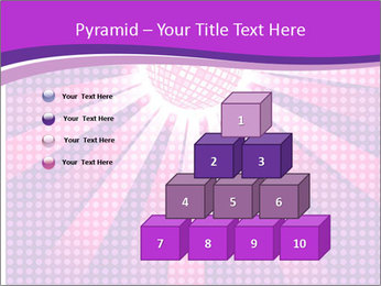 Pink Night Light PowerPoint Template - Slide 31