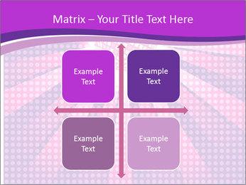 Pink Night Light PowerPoint Template - Slide 37