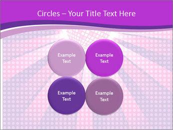 Pink Night Light PowerPoint Template - Slide 38
