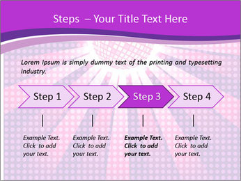 Pink Night Light PowerPoint Template - Slide 4