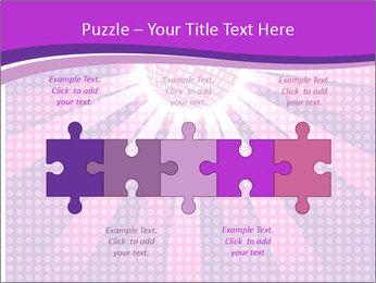Pink Night Light PowerPoint Template - Slide 41