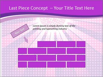 Pink Night Light PowerPoint Template - Slide 46