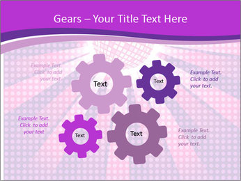 Pink Night Light PowerPoint Template - Slide 47
