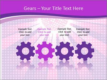 Pink Night Light PowerPoint Template - Slide 48