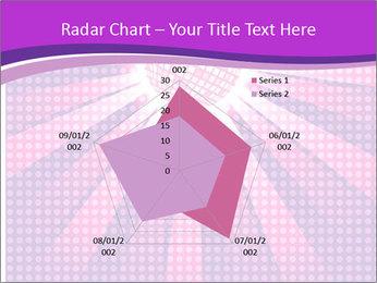 Pink Night Light PowerPoint Template - Slide 51