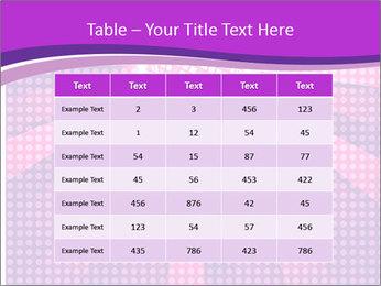 Pink Night Light PowerPoint Template - Slide 55