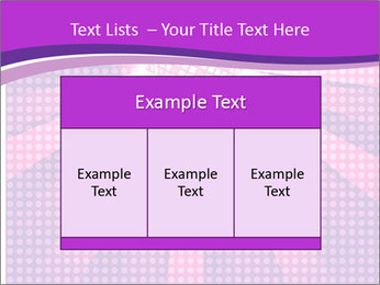 Pink Night Light PowerPoint Template - Slide 59