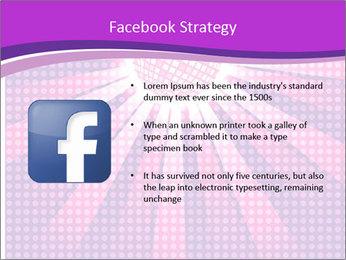 Pink Night Light PowerPoint Template - Slide 6