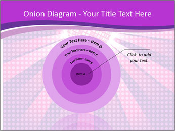 Pink Night Light PowerPoint Template - Slide 61