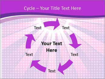 Pink Night Light PowerPoint Template - Slide 62