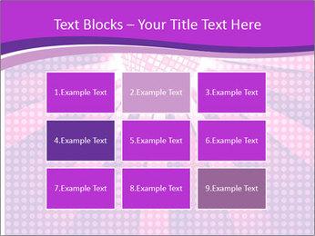 Pink Night Light PowerPoint Template - Slide 68