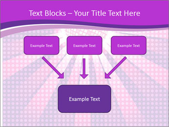 Pink Night Light PowerPoint Template - Slide 70
