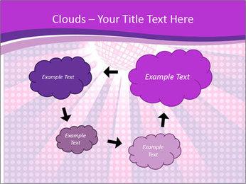 Pink Night Light PowerPoint Template - Slide 72