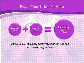 Pink Night Light PowerPoint Template - Slide 75