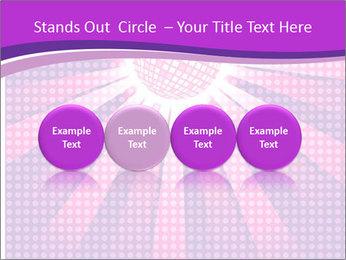 Pink Night Light PowerPoint Template - Slide 76