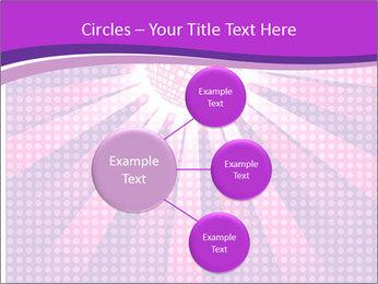 Pink Night Light PowerPoint Template - Slide 79