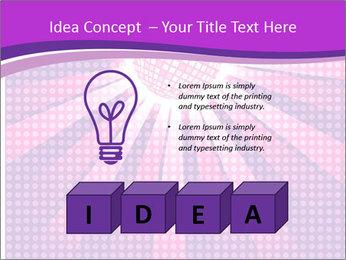 Pink Night Light PowerPoint Template - Slide 80
