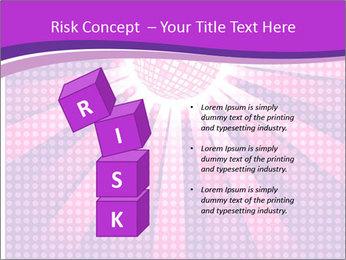 Pink Night Light PowerPoint Template - Slide 81