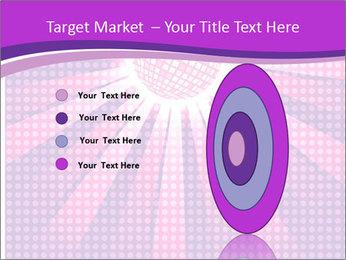 Pink Night Light PowerPoint Template - Slide 84