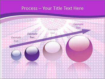 Pink Night Light PowerPoint Template - Slide 87