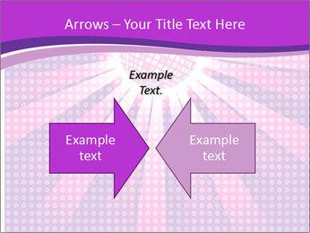 Pink Night Light PowerPoint Template - Slide 90