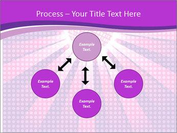 Pink Night Light PowerPoint Template - Slide 91
