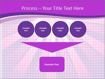 Pink Night Light PowerPoint Template - Slide 93
