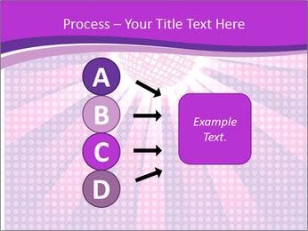 Pink Night Light PowerPoint Template - Slide 94