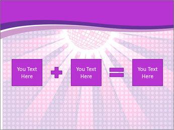 Pink Night Light PowerPoint Template - Slide 95