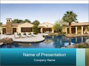 Villa In North America PowerPoint Templates