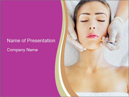 Face Beaity Therapy PowerPoint Templates