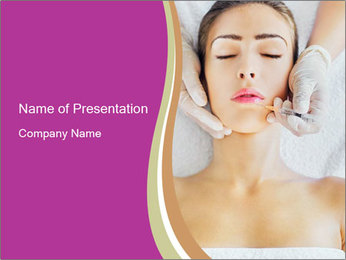 Face Beaity Therapy PowerPoint Templates - Slide 1