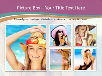 Relaxed Lady On Vacation PowerPoint Templates - Slide 19