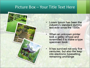 Green Grass In Garden PowerPoint Template - Slide 17