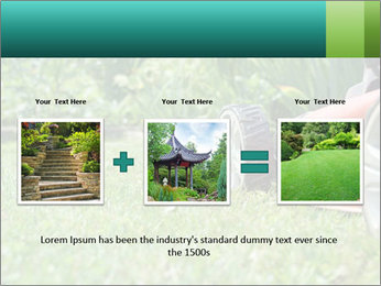 Green Grass In Garden PowerPoint Template - Slide 22