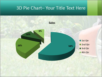 Green Grass In Garden PowerPoint Template - Slide 35
