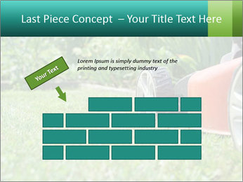 Green Grass In Garden PowerPoint Template - Slide 46
