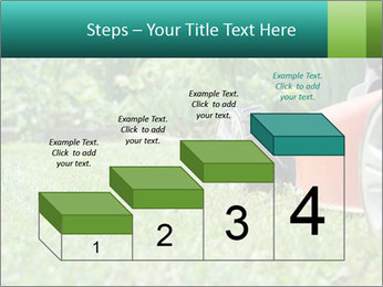 Green Grass In Garden PowerPoint Template - Slide 64