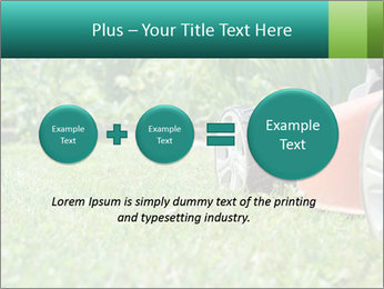 Green Grass In Garden PowerPoint Template - Slide 75
